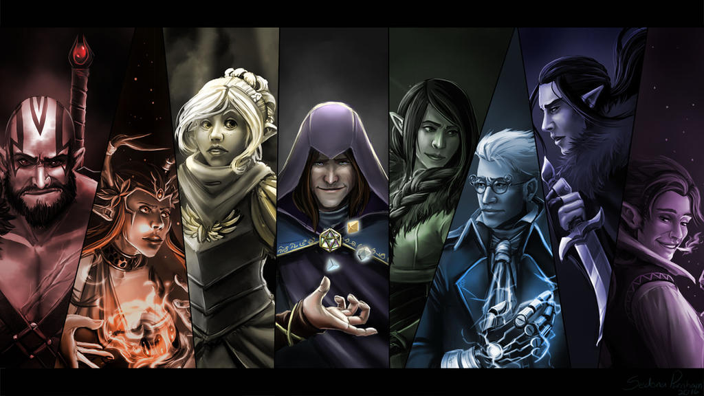 Critical Role 50th Episode Wallpaper By Anodesu On Deviantart