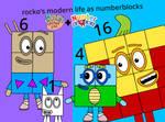 Rocko+Numberblocks by elinery2005