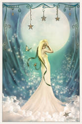 Moonbeams and Sweet Dreams by DWilsonArtCreations