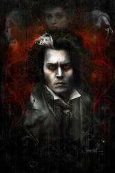 Sweeney Todd Movie Poster by jonsibal
