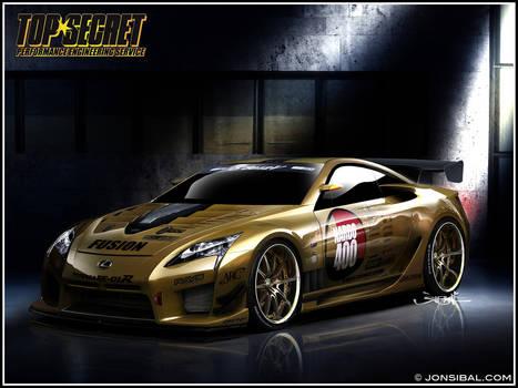 TOP SECRET Lexus LF-A Supercar
