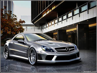 SL65 AMG Black Series by jonsibal