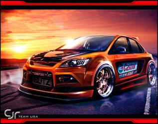 Ford Focus ST by jonsibal