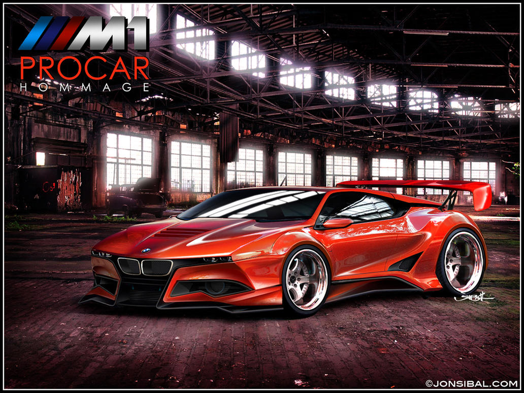 BMW M1 PROCAR Hommage by jonsibal on DeviantArt