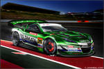 2010 Super GT NSX racecar