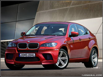 BMW X6M by jonsibal