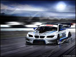 BMW E92 M3 DTM racecar by jonsibal