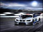 BMW E92 M3 DTM racecar