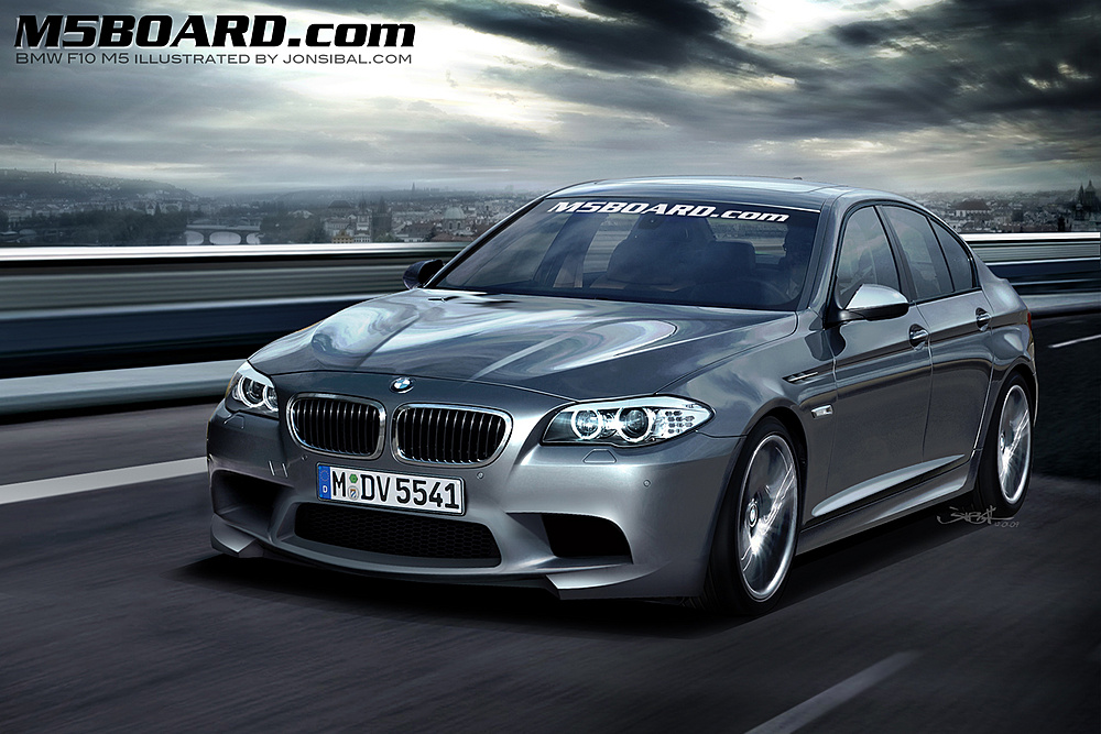 2011 BMW M5 by jonsibal