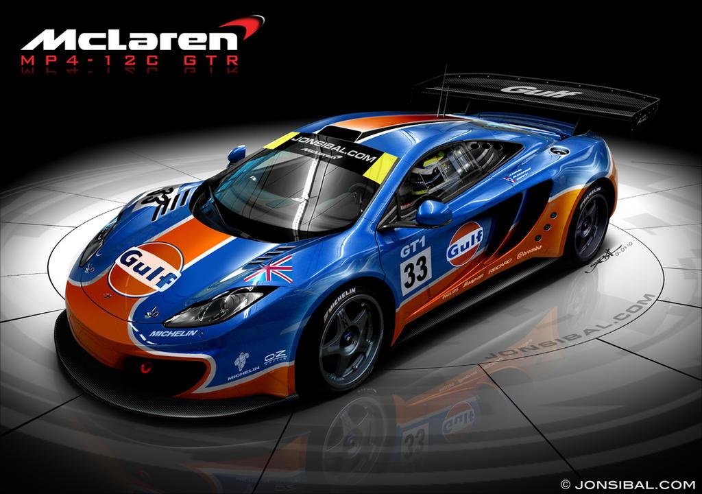 McLaren MP4-12C GTR - GULF
