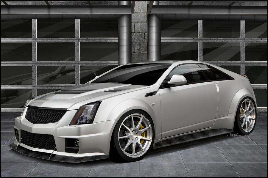 miles show v more cadillac coupe side profile news a in motion sale cts for