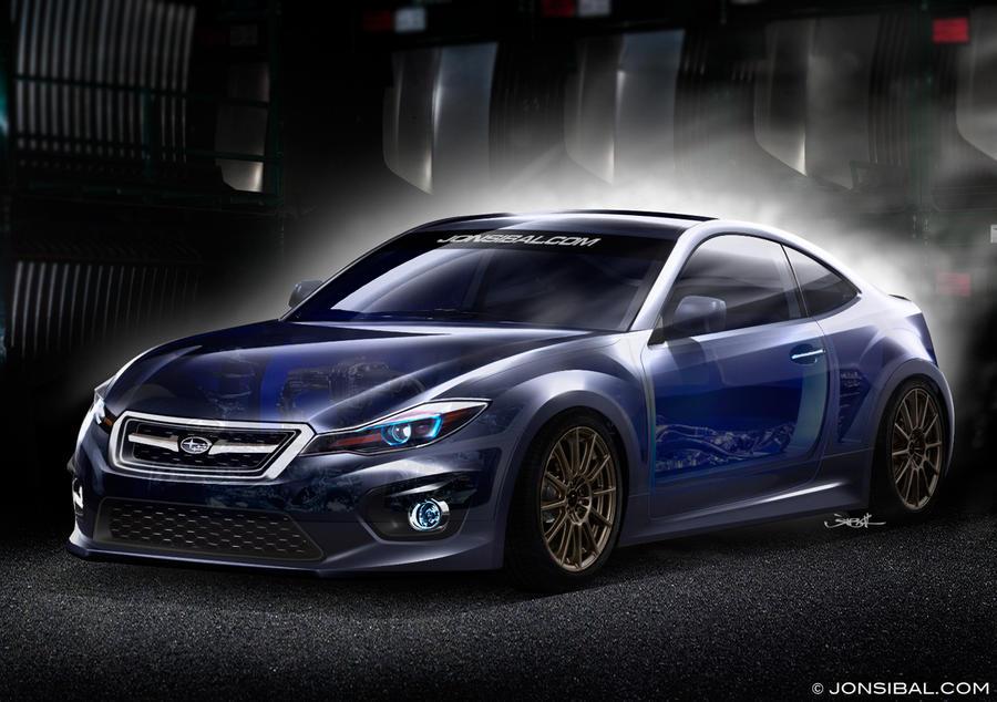 2013 Subaru BRZ concept by jonsibal