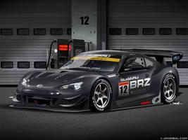 Subaru BRZ GT300 Super GT racecar by jonsibal