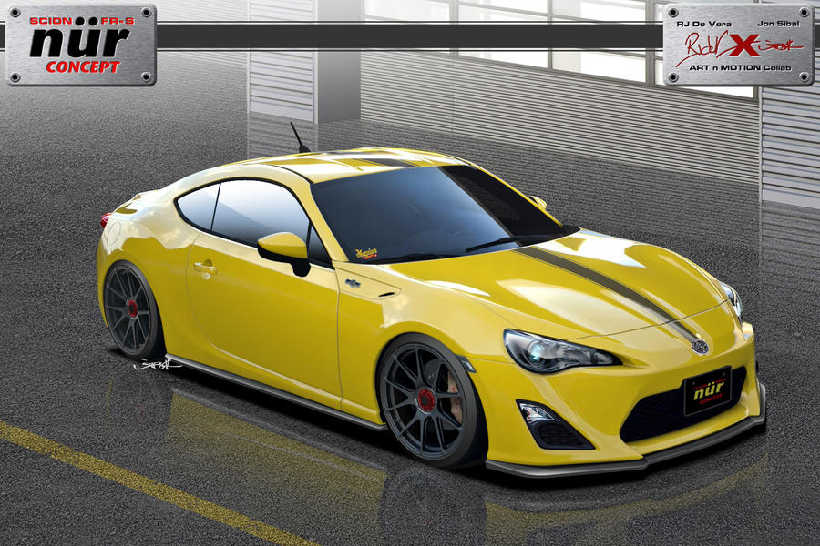 Scion FR-S NuR Concept by jonsibal