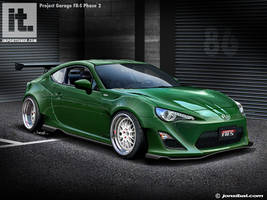 Garage FR-S Phase 2 Project by jonsibal