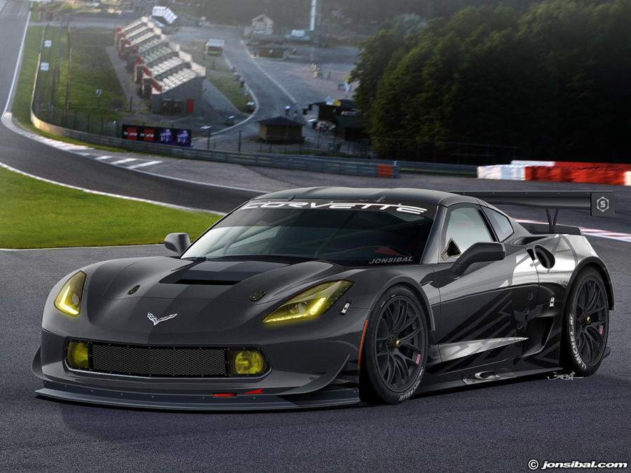 Corvette C7R by jonsibal