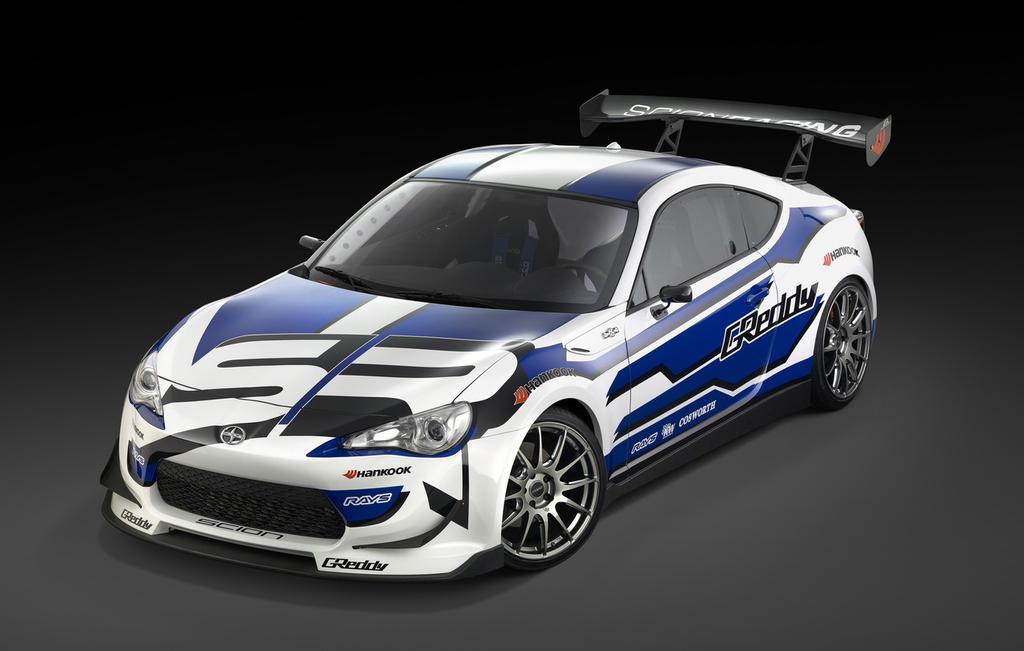 Greddy X Scion Racing Frs Drift Car By Jonsibal On Deviantart