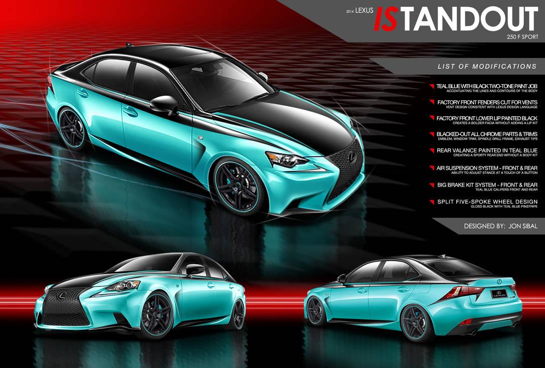 Lexus ISTANDOUT 250 F Sport Concept by jonsibal