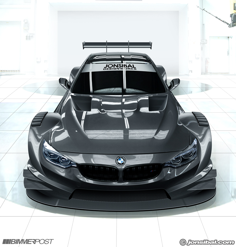 BMW M4 DTM Concept by jonsibal