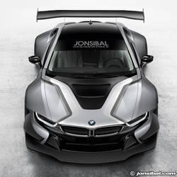 BMW i8 Race Car Concept by jonsibal