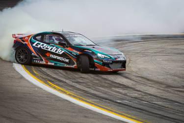 GReddy X Scion Racing X Hankook drift car by jonsibal