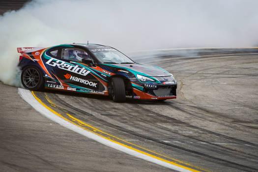 GReddy X Scion Racing X Hankook drift car