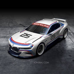 BMW CSL Hommage Concept