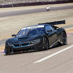 BMW i8 race car Concept