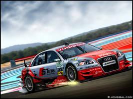 Audi DTM RaceCar by jonsibal
