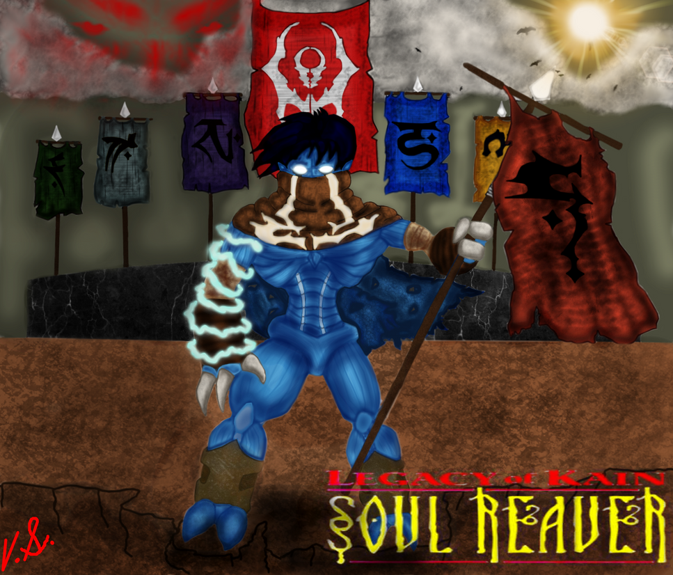 Legacy Of Kain : Soul Reaver by VicSidenko