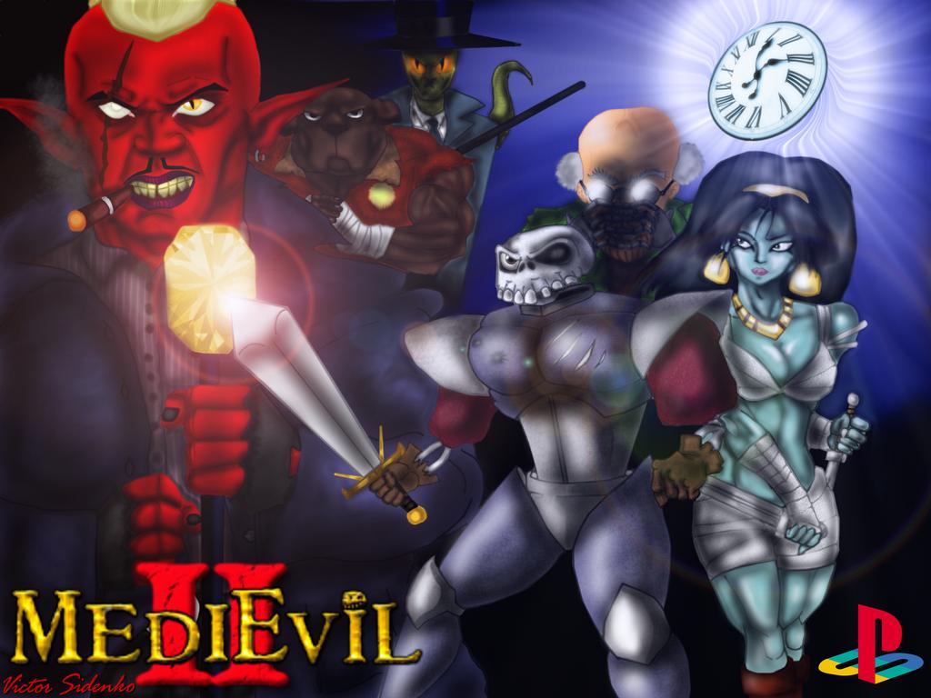 MediEvil 2 Artwork by VicSidenko