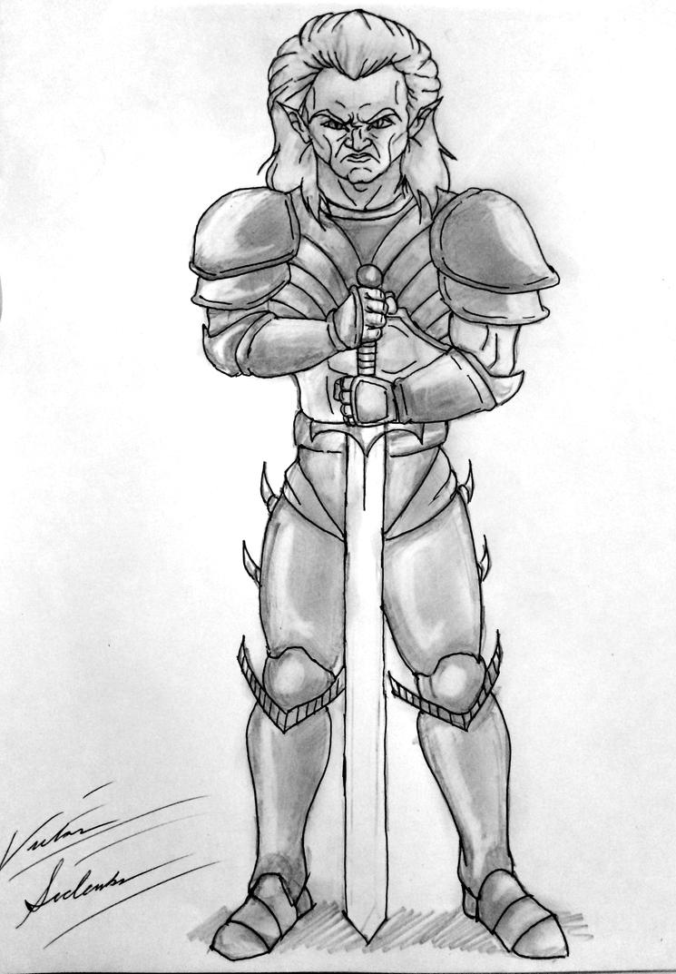 Blood Omen: The Legacy Of Kain (Original Drawing) by VicSidenko
