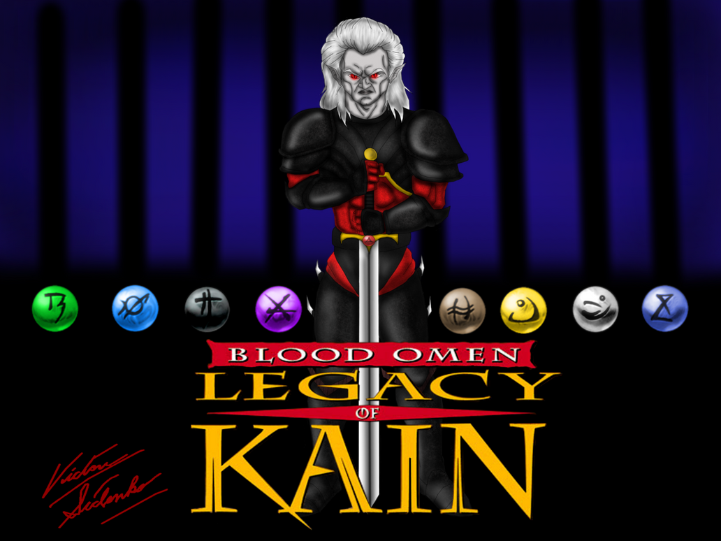 Blood Omen: The Legacy Of Kain Artwork by VicSidenko