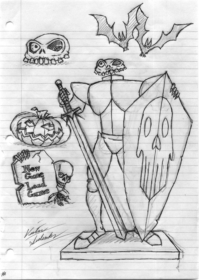 MediEvil Sketch by VicSidenko
