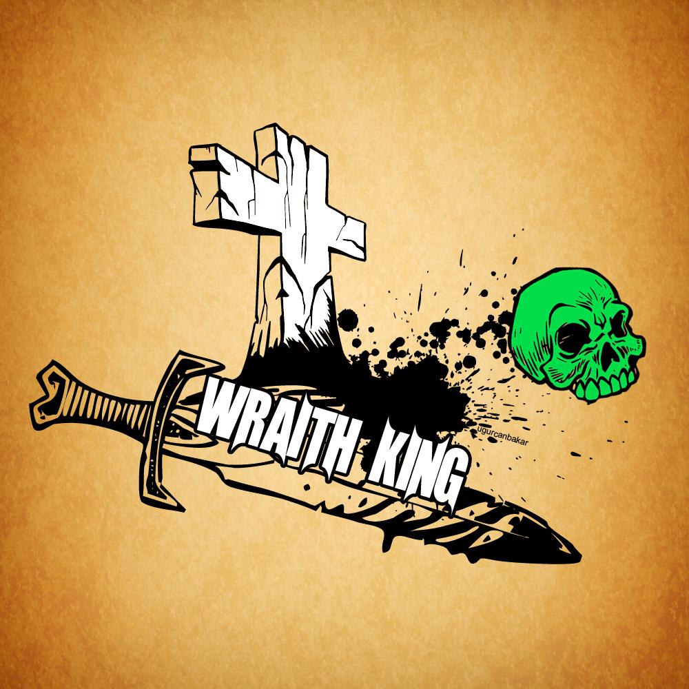 Wraith King Logo By Ugurcanbakar