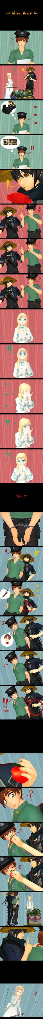 ..:.:: Under Arrest ::.:.. by Hebigami-Okami-77