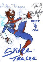 artprompt#3 spider-tracer