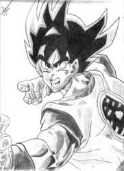 Goku by mateusornelas