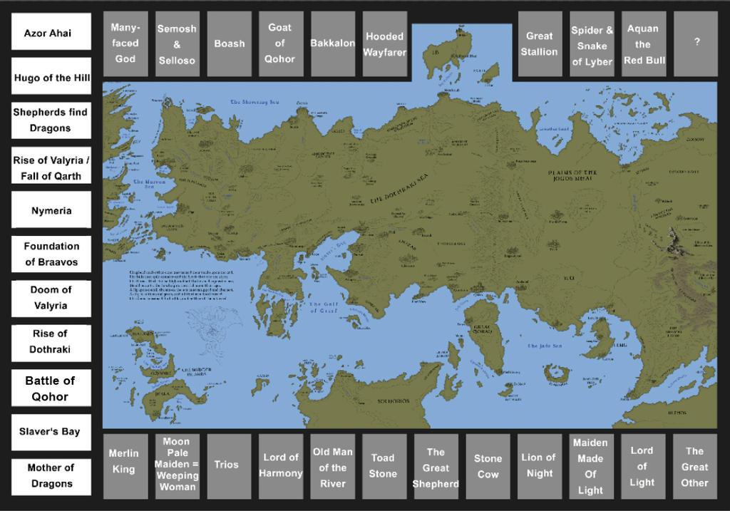 Essos Map - Overview by Klaradox on DeviantArt