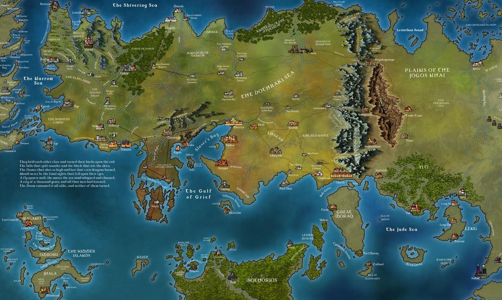 Essos Work In Progress By Klaradox On Deviantart