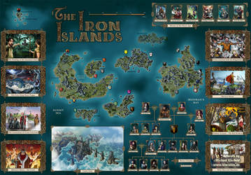 THE IRON ISLANDS by Klaradox