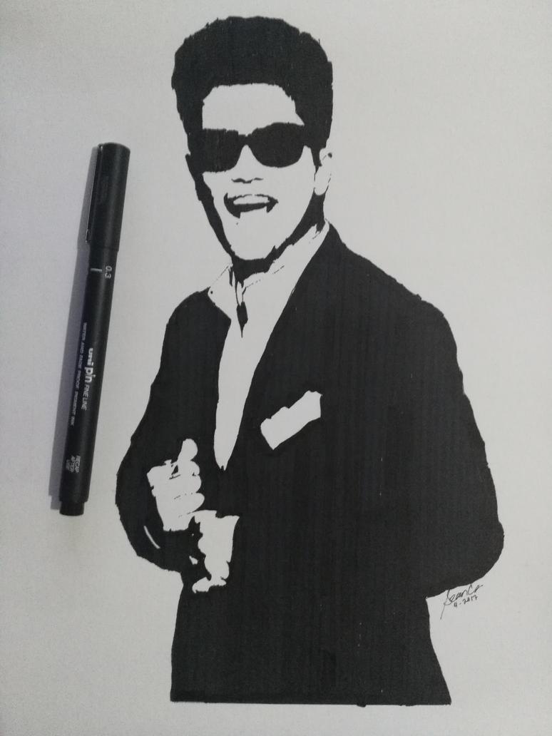 Bruno Mars by ThatDerpyGuy1