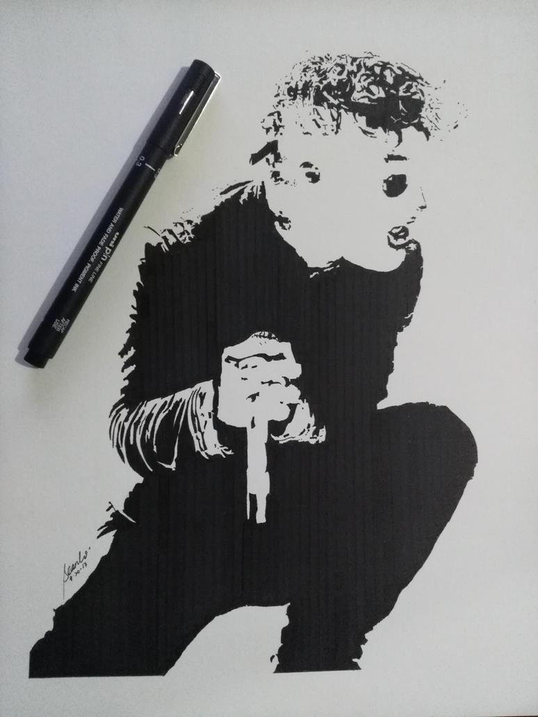 Corey Taylor - Slipknot by ThatDerpyGuy1