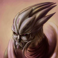 Turian Attempt Two by Sebyth
