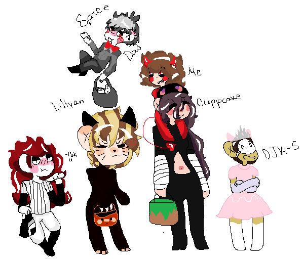 Halloween Party by creepypasta1catgirl