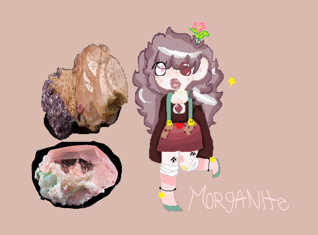 Morganite SU by creepypasta1catgirl