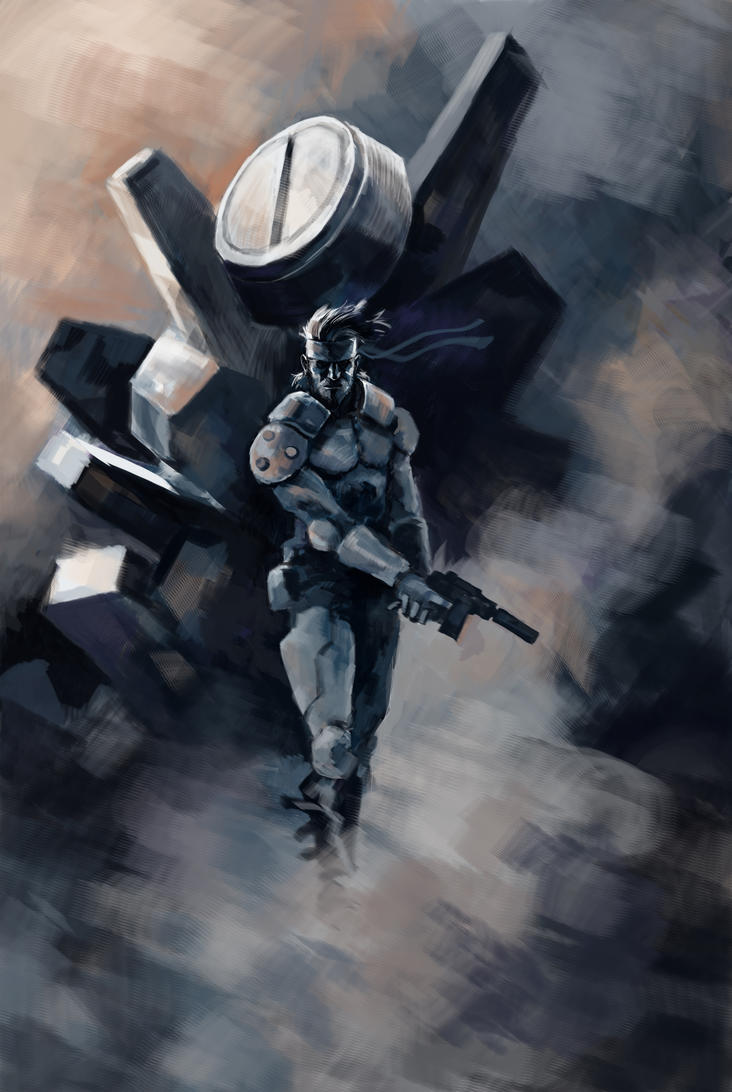 Solid Snake Who S Next By Hristov13 On Deviantart