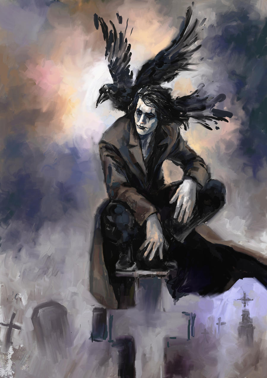 The Crow by Hristov13 on DeviantArt