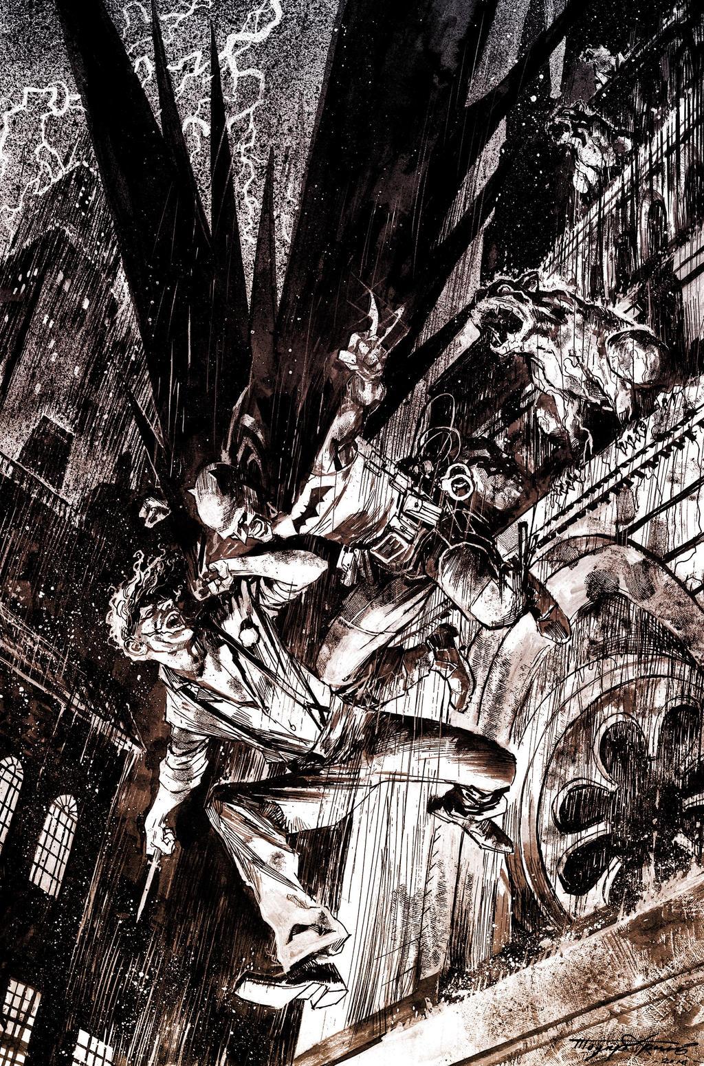 Batman and Joker Commission by Hristov13