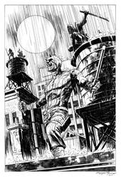 Daredevil The Hand commission